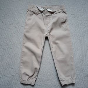 Lucky Brand Khaki Joggers size 3T good condition